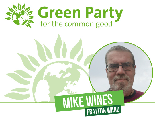 Mike Wines for Fratton Ward banner