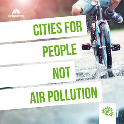Cities for people banner