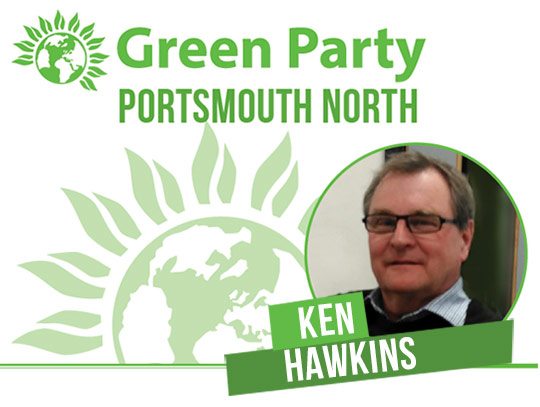 Ken Hawkins - Portsmouth North banner