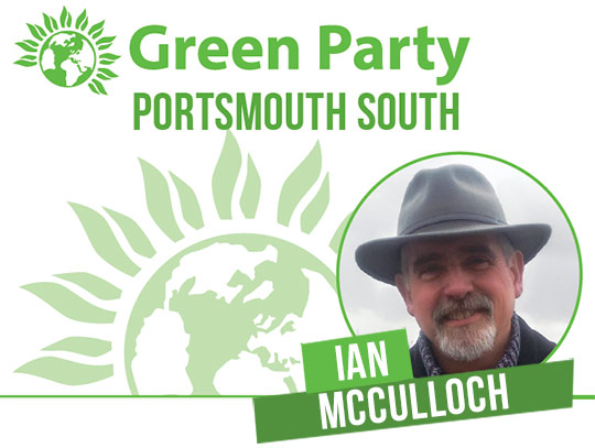 Ian McCulloch - Portsmouth South banner