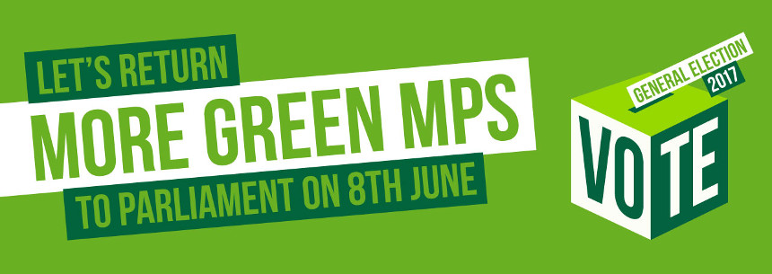 Let's return more Green MPs to Parliament on 8th June