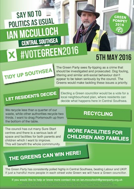 Portsmouth Green Party Spring 2016 Newletter Page 2 thumbnail